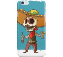 The Mexican Party Skull! iPhone Case/Skin