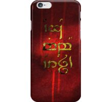 Ego mibo orch - Go kiss an orc iPhone Case/Skin