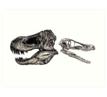 Bony Bunch - Carnivores Art Print