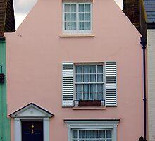 Print - Town House by mrparkini