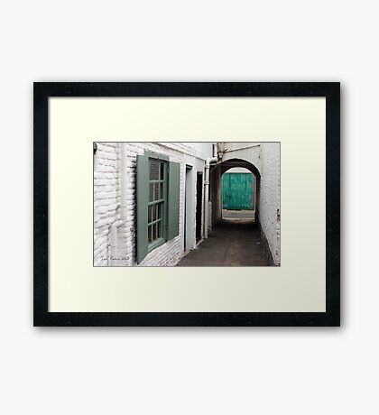 Print - Deal Alley Framed Print
