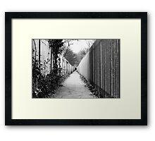 Print - Folkestone Alley Framed Print