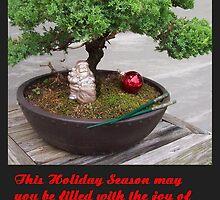 Bonsai Christmas tree by waverly888