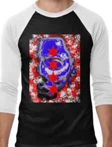 Michael Chicago Flag Men's Baseball ¾ T-Shirt