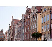 City of Gdansk, Poland. Photographic Print