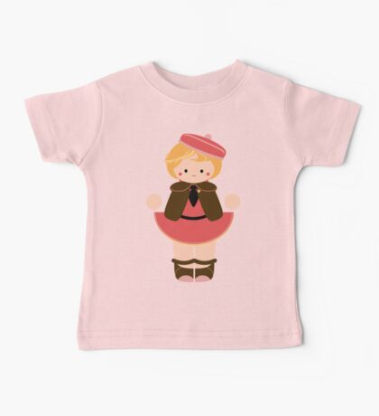 Sweet School Girl Baby Tee