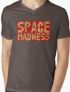 SpAcE mAdNeSs Mens V-Neck T-Shirt
