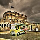 Gelateria: Castel Sant&#x27;Angelo, Rome (HDR) by JLaverty