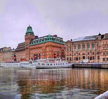Nybrokajen, Stockholm by João Figueiredo