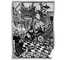 Chess by Moth Light. Poster
