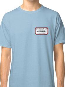 Stimpy - the rubber nipple salesman Classic T-Shirt