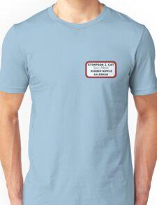 Stimpy - the rubber nipple salesman Unisex T-Shirt