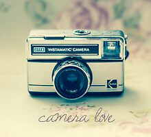 Camera Love by Nicola  Pearson