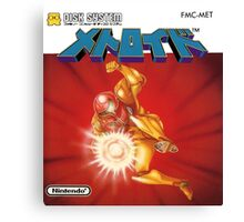 Metroid Famicom Disk System Japanese Box Art (NES) Canvas Print