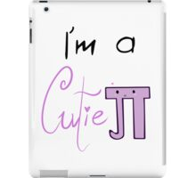"""Cutie Pie!"" iPad Case/Skin"