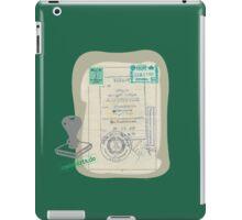 Ausreisevisum iPad Case/Skin
