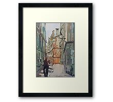 Oxford Lane Framed Print