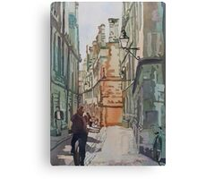 Oxford Lane Canvas Print