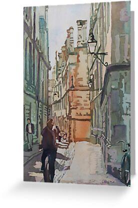Oxford Lane by JennyArmitage