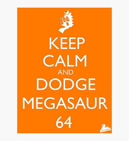 Dodge Megasaur 64 Photographic Print