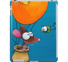 Mouse in his hot air balloon iPad Case/Skin