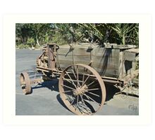 """ A Sprayer - 1908 - 1930 Art Print"