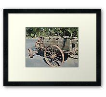 """"""" A Sprayer - 1908 - 1930 Framed Print"""