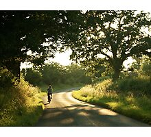 A Summer Bike Ride.... Photographic Print