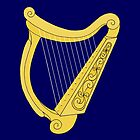 Irish Harp by Richard Fay