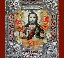 jesus christ icon by snotbubble