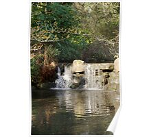 Water Fall in Stanley Park Poster