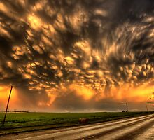 Storm Clouds Saskatchewan Canada by pictureguy