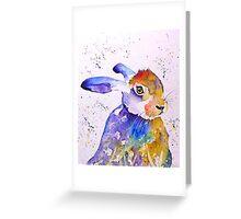 Hare 21 Greeting Card