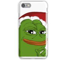Holiday Pepe iPhone Case/Skin