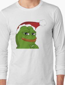 Holiday Pepe Long Sleeve T-Shirt
