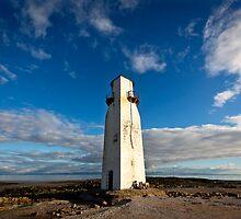 Southerness Lighthouse, Scotland by Jan Fialkowski