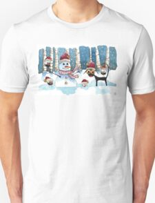 Fun in the snow Unisex T-Shirt