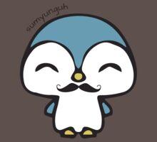 Mustache Penguin Kawaii Kids Clothes
