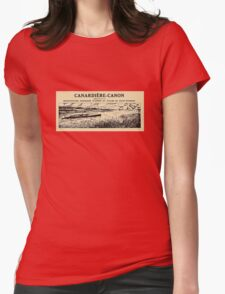 Canardiere-Canon Womens Fitted T-Shirt