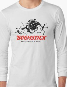 BOOMSTICK REPEATING ARMS!! (DARK) Long Sleeve T-Shirt