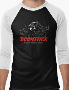 BOOMSTICK REPEATING ARMS!! (DARK) Men's Baseball ¾ T-Shirt