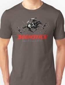 BOOMSTICK REPEATING ARMS!! (DARK) T-Shirt
