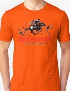 BOOMSTICK REPEATING ARMS!! (DARK) Unisex T-Shirt