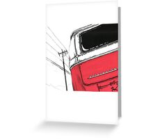 Red Bay Greeting Card