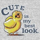 Cute Chick My Best Look by offleashart
