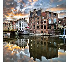 Gent Reflection Photographic Print