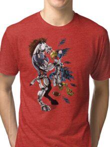 Broncos VS Seahawks Tri-blend T-Shirt