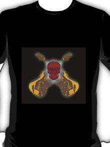 Guitar and Skull T-Shirt