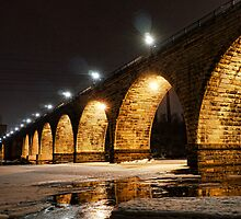 Stony Arch Bridge at Midnight by Culrick99