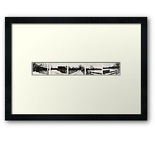 Take In Your Surroundings Framed Print